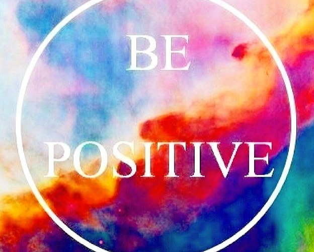 tie-dye be positive