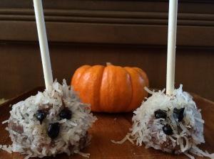 paleo coconut ghost truffles