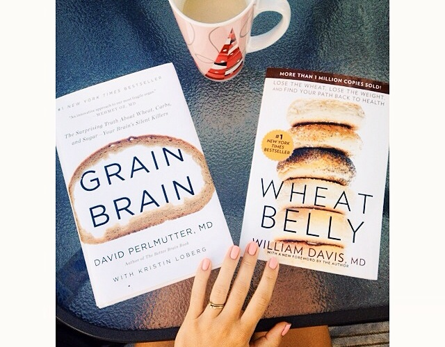 grain brain and wheat belly books