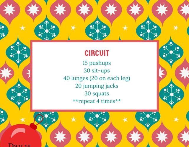 christmas circuit