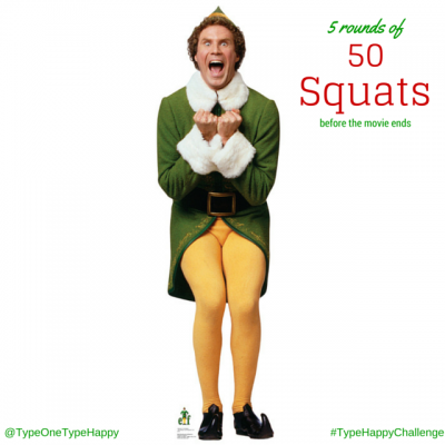 elf movie workout