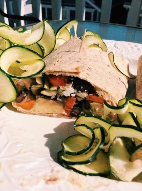 zucchini wrap