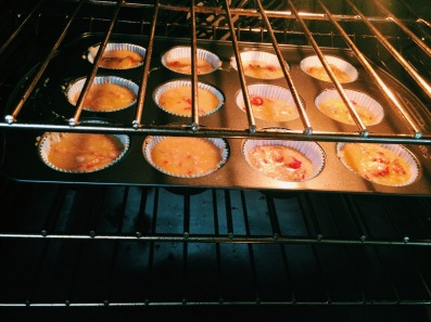 paleo strawberry muffin batter