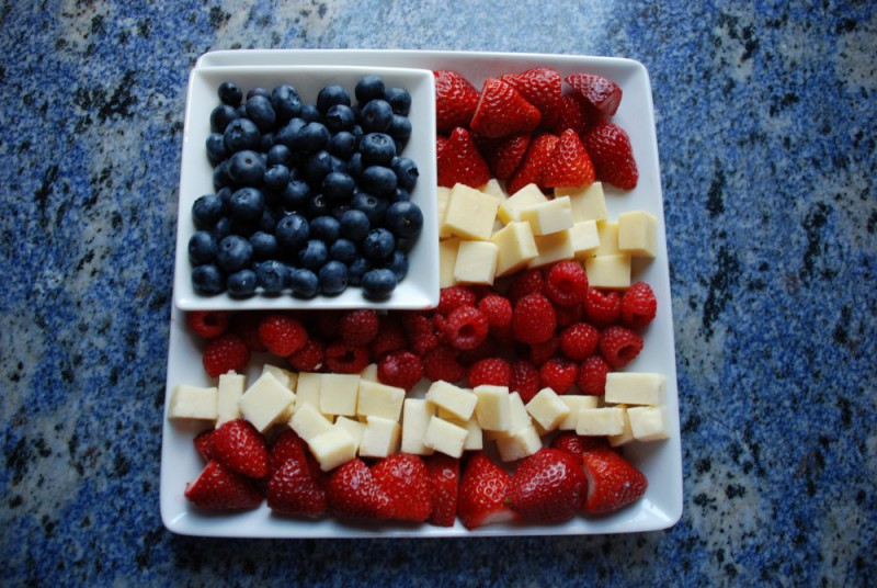 4th of july platter