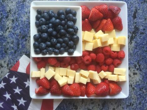 flag platter