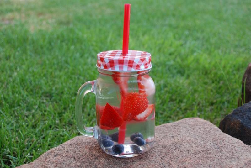 july fruit water