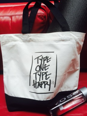 Type One Type Happy Bag